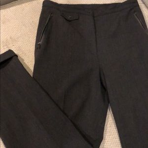 Ralph Lauren women's dark gray suit pants